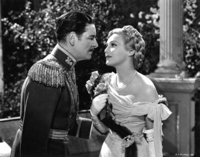 Publiciteitsfoto voor de film The Prisoner of Zenda (1937).