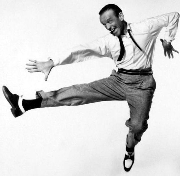 Fred Astaire danst in de film Daddie Long Legs. Credits: 20th Century Fox