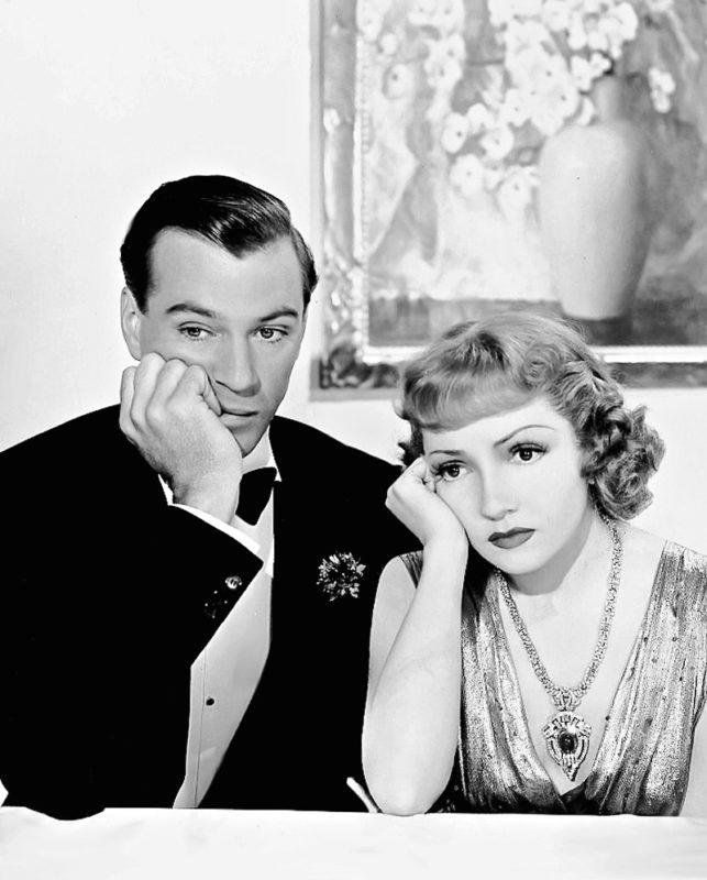 Publiciteitsfoto voor de film Bluebeard's Eighth Wife (1938).