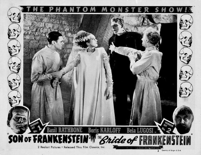 Scene uit Bride of Frankenstein. Credits: Universal Pictures.
