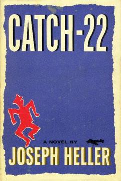 Originele cover boek Catch-22 van Jospeh Heller.