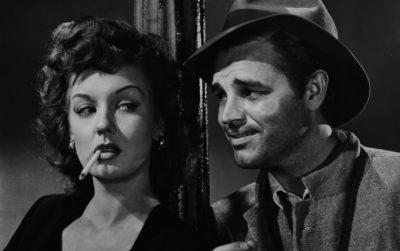 Fragment uit Detour, een film noir uit 1945, waarin een man keer op keer foute beslissingen lijkt te nemen en de verkeerde mensen tegenkomt.