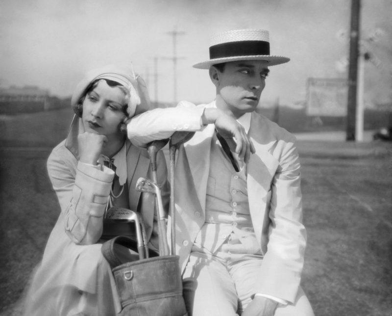 Parlor Bedroom and Bath (1931), hier met Joan Peers en Buster Keaton.